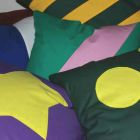 Applique cushions
