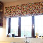 Bright bold kitchen blind