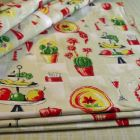Lovely remake of vintage fabric curtains
