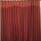 Eyelet headed curtains look great on a pole.